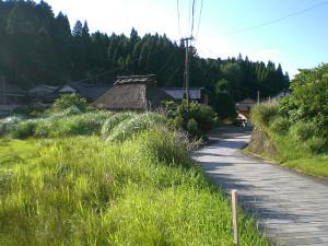 小石原の風景
